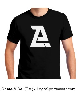 Black Azor T-Shirt- Adult Design Zoom