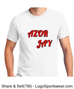 Azor Jay T-Shirt- Adult Design Zoom